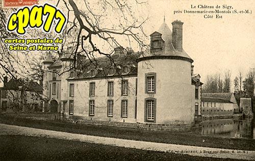 Sigy - Le Château - Côté Est