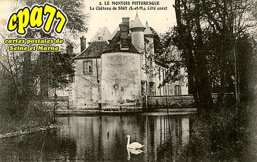 Sigy - Le Château - Côté Ouest