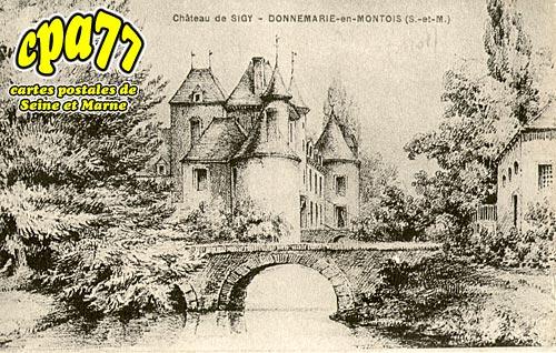 Sigy - Le Château