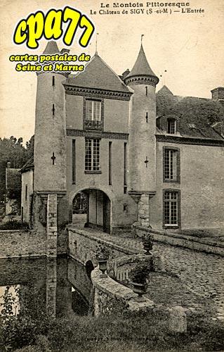 Sigy - Le Château - L'Entrée