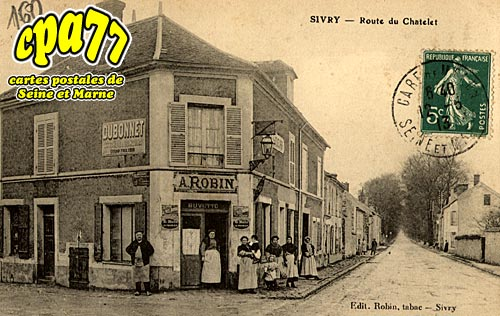 Sivry Courtry - Route du Chatelet