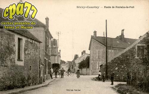 Sivry Courtry - Route de Fontaine-le-Port