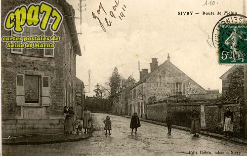 Sivry Courtry - Route de Melun