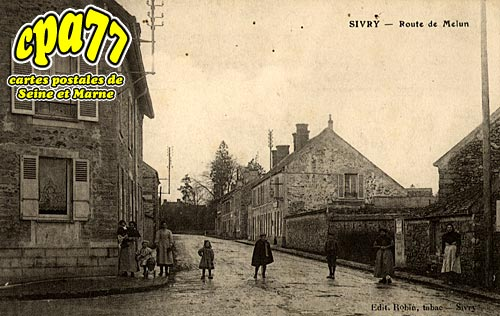 Sivry Courtry - Route de Melun