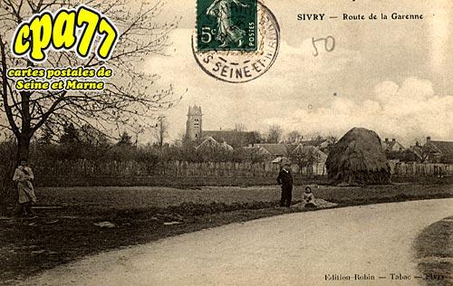Sivry Courtry - Route de la Garenne