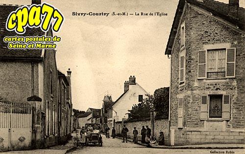 Sivry Courtry - La Rue de l'Eglise
