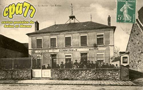 Sognolles En Montois - La Mairie - Les Ecoles