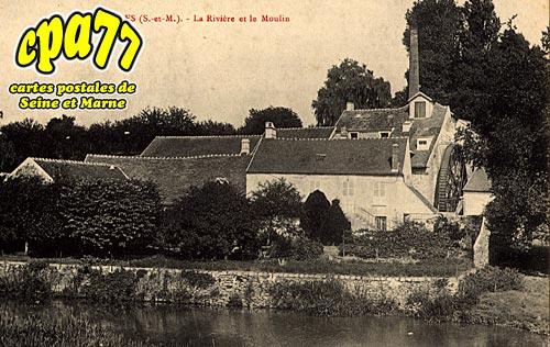 Soignolles En Brie - La Rivière et le Moulin