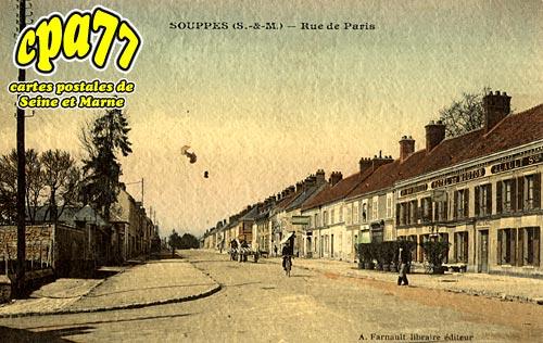 Souppes Sur Loing - Rue de paris