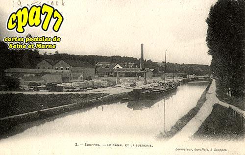 Souppes Sur Loing - Le Canal et la Sucrerie