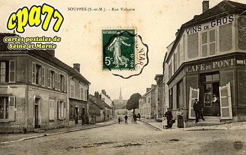 Souppes Sur Loing - Rue Voltaire