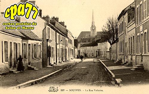 Souppes Sur Loing - La Rue Voltaire