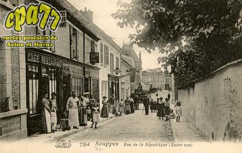 Souppes Sur Loing - Rue de la République (Autre vue)