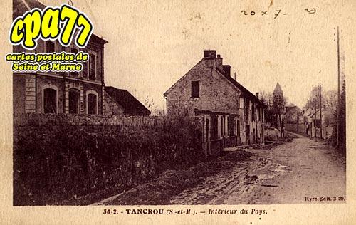 Tancrou - Intérieur du Pays