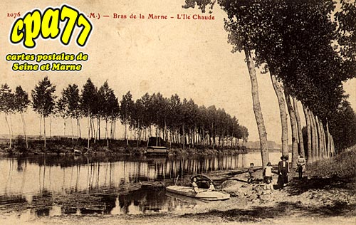 Tancrou - Bras de la Marne - L'Ile Chaude