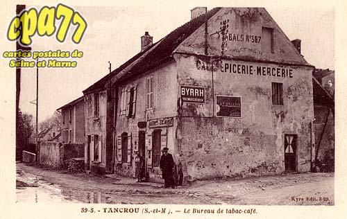 Tancrou - Le Bureau de tabac-café