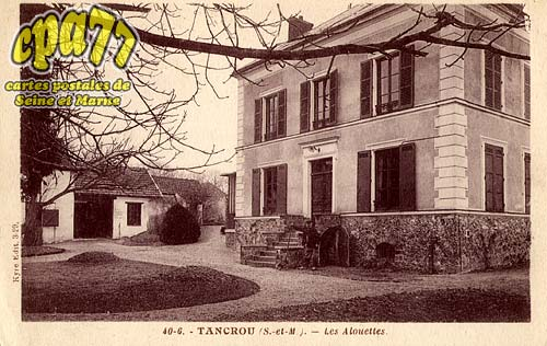 Tancrou - Les Alouettes
