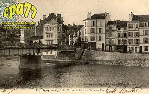 Thorigny Sur Marne - Quai de Marne et Rue du Pont de Fer