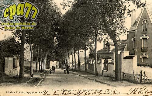Thorigny Sur Marne - La Route de Claye