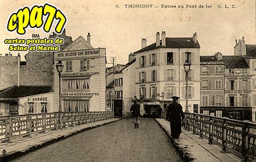 Thorigny Sur Marne - Entrée au Pont de fer (en l'état)