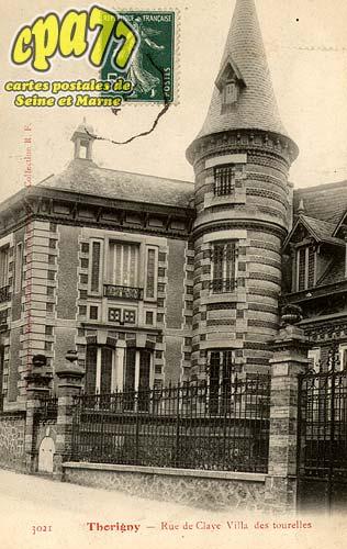 Thorigny Sur Marne - Rue de Claye Villa des tourelles