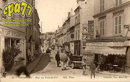 Thorigny Sur Marne - Rue du Pont-de-Fer