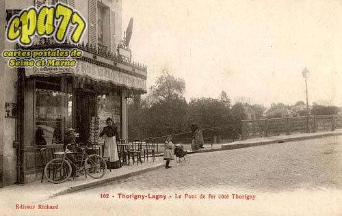 Thorigny Sur Marne - Le Pont de fer côté Thorigny