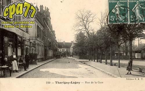Thorigny Sur Marne - Rue de la Gare