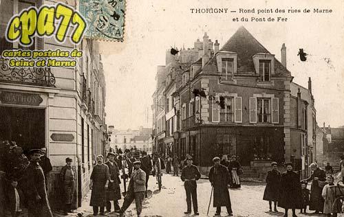 Thorigny Sur Marne - Rond Point des rues de Marne et du Pont de fer