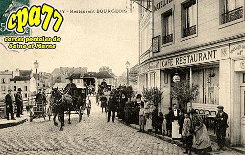 Thorigny Sur Marne - Restaurant Bourgeois