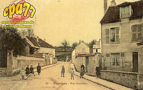 Thorigny Sur Marne - Rue Gambetta