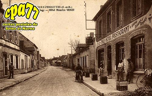 Thoury Férottes - La Rue de Flagy - Hôtel Maurice VENET