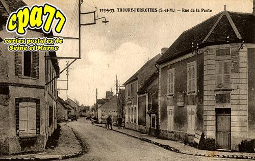 Thoury Férottes - Rue de la Poste