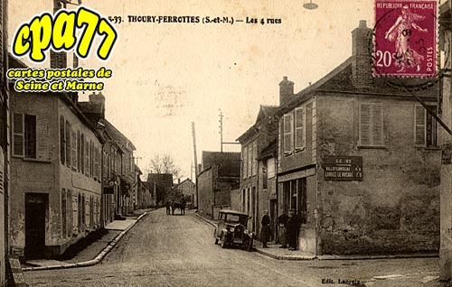 Thoury Férottes - Les 4 Rues