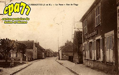 Thoury Férottes - La Poste - Rue de Flagy