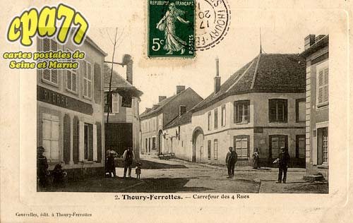 Thoury Férottes - Carrefour des 4 rues