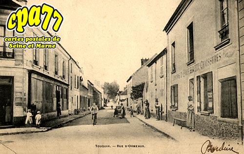 Touquin - Rue d'Ormeaux