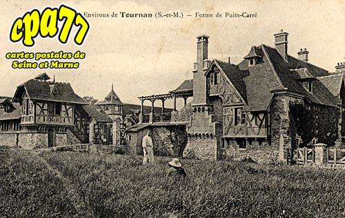 carte postale ancienne de tournan en brie 77 ferme du puits carr. Black Bedroom Furniture Sets. Home Design Ideas