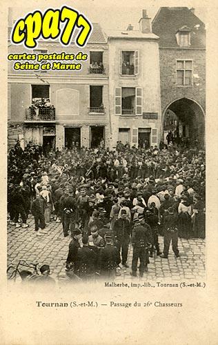 Tournan En Brie - Passage du 26e Chasseurs