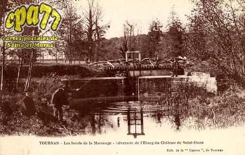 Tournan En Brie - Les Bords de la Marsange - Déversoir de l'Etang du Château de Saint-Ouen