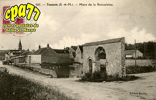 Tousson - Mare de la Roncelette