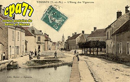 Tousson - L'Etang des Vignerons