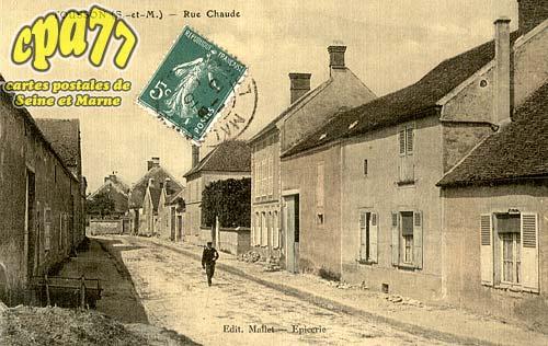 Tousson - Rue Chaude