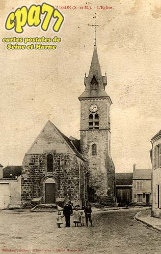 Tousson - L'Eglise