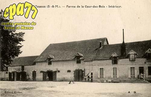 Tousson - Ferme de la Cour-des-Bois - Intérieur