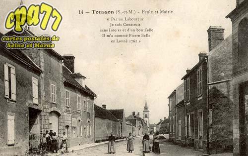 Tousson - Ecole et Mairie