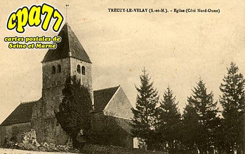 Treuzy Levelay - Eglise (côté Nord-Ouest)