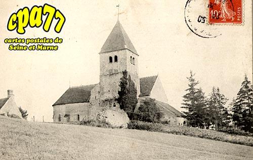 Treuzy Levelay - L'Eglise