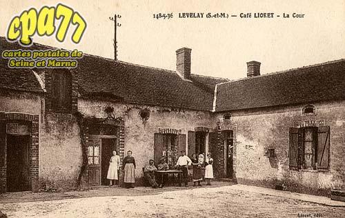 Treuzy Levelay - LEVELAY - Café Lioret - La Cour