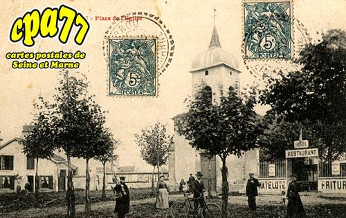 Vaires Sur Marne - Place de l'Eglise